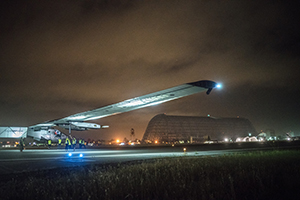 02.05.2016 SOLAR IMPULSE 2 BEGINS UNITED STATES CROSSING – FIRST STOP: PHOENIX