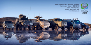 14.02.2013 Paramount Group to exhibit latest defence technology at IDEX 2013