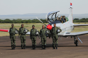 11.02.2013 FORMAL HANDOVER OF BOTSWANA DEFENCE FORCE (BDF) PC-7 MKII