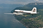 10.03.2017 The Breitling DC-3 kicks off its great world tour