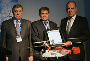 27.02.2013 Ka-32A11BC fire-fighting helicopter presented with