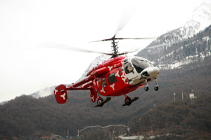 06.02.2014 Russian Helicopters' role in XXII Winter Olympic Games in Sochi