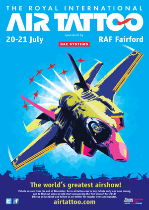 23.11.2012 AIR TATTOO OFFER IS JUST THE TICKET